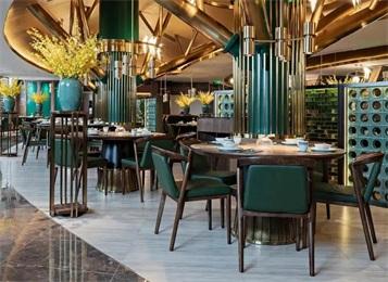 主打新派粤菜深圳木棉餐厅家具是怎样的?