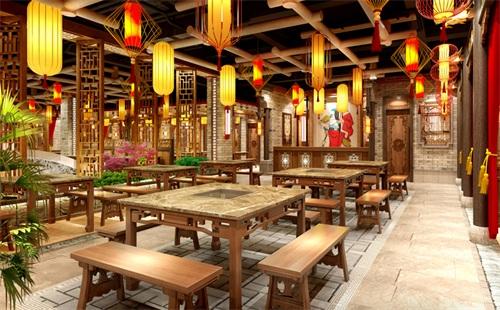 如何设计中式餐厅,掌握这几点让你轻松开店-海德利设计