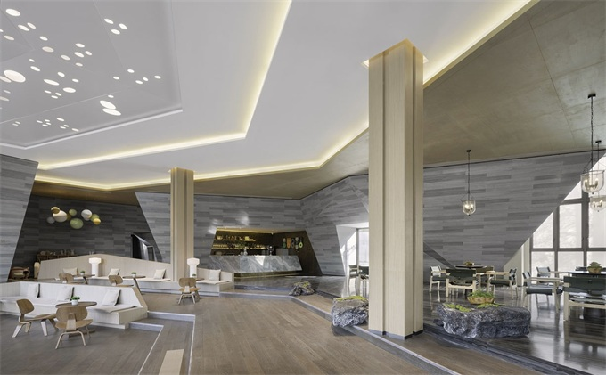 未来高端现代售楼处设计应该是怎样的呢?-海德利设计