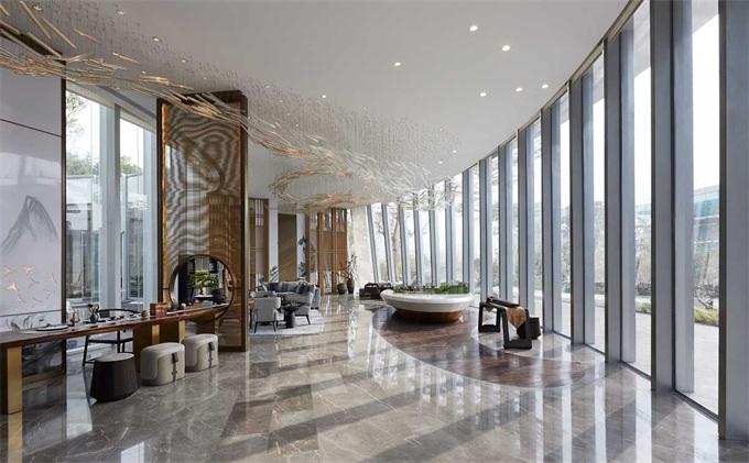 高端新中式售楼处设计理念是怎样的呢?-海德利设计