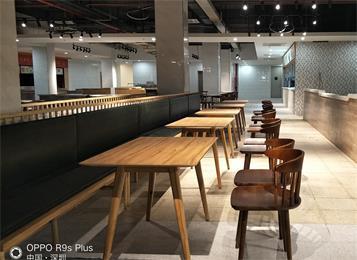 富士康集团员工食堂桌椅