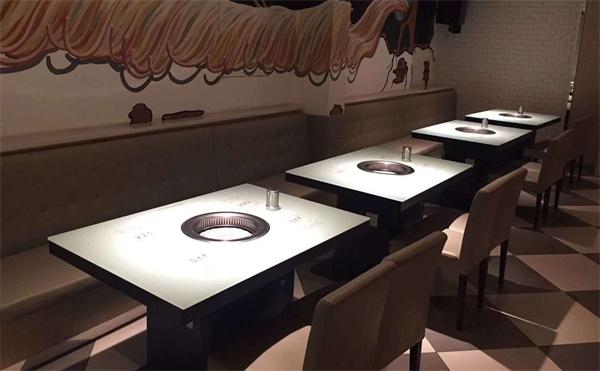 烤肉店用什样的桌子适合,你知道怎么采购烤肉店桌子吗?