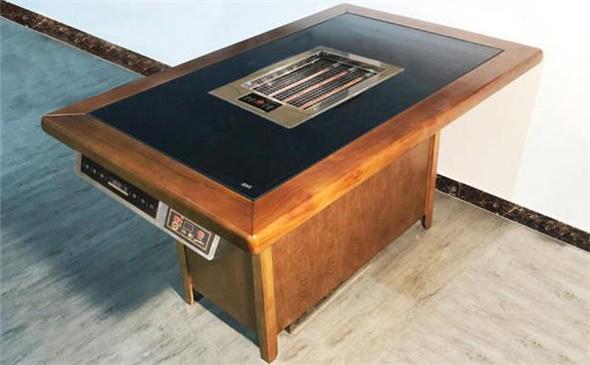烧烤店桌子使用无烟烧烤桌子受到行业青睐原因大公开!