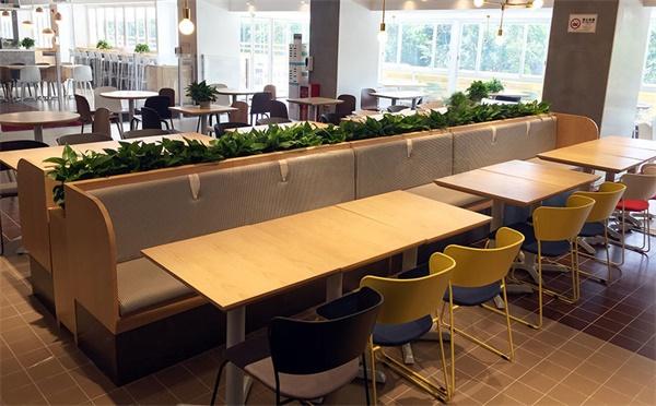 员工食堂快餐桌椅选购需要注意什么,掌握这些技巧准没错!