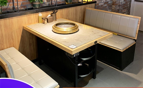日式烤肉店餐桌尺寸有哪些,日式烤肉店餐桌怎么选购?