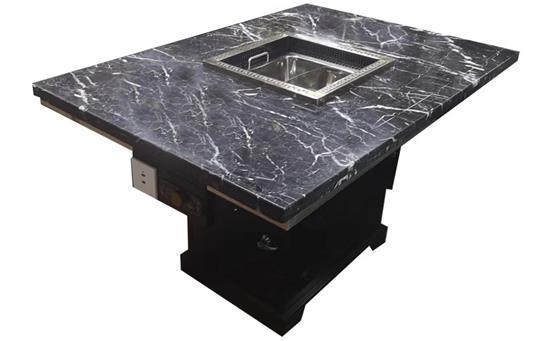 火锅桌子带电磁炉一体供应商核心竞争力并不是一味低价