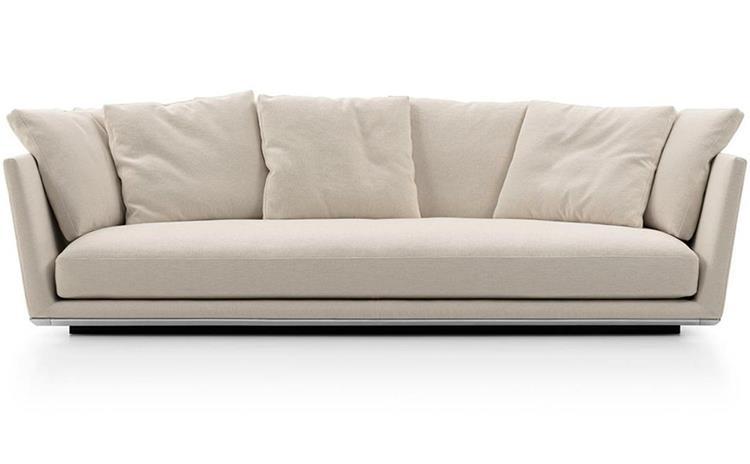 这样选意式轻奢沙发,让别墅会所简洁而不失温馨!-海德利家具