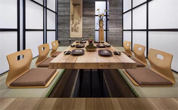 4招教您如何简单挑选日式餐厅家具-海德利家具