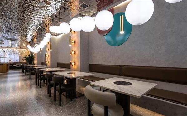 火锅店用这样的时尚火锅餐桌,成网红餐厅指日可待!