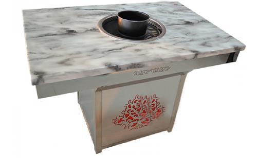 市场上流行的烤肉汤锅一体桌子款式有哪些,你知道多少!