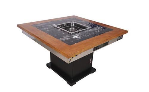 自助烧烤桌多少钱一台,今天终于有答案了-海德利家具