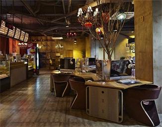 北京漫威网咖空间设计