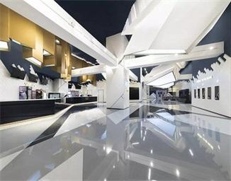 潮流电影院空间设计